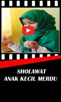 Sholawat Anak Kecil Merdu poster