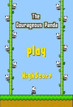 Courageous Panda poster
