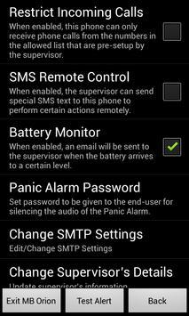 MB Orion - Safety Phone apk screenshot