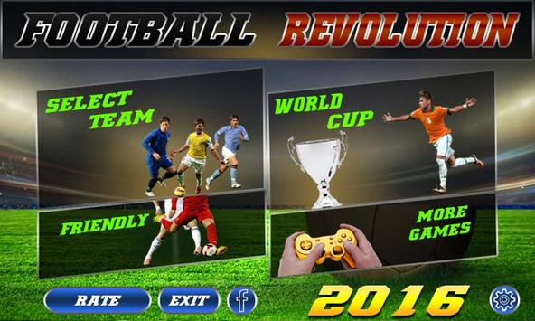 Football Revolution 2016 apk screenshot