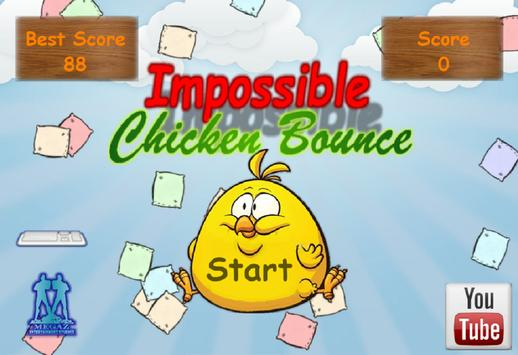 Impossible Chicken Bounce apk screenshot