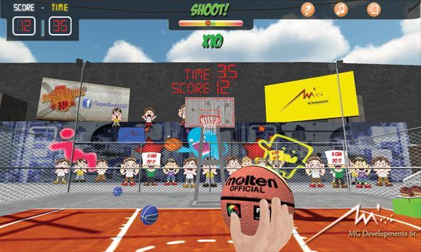 Super Basket 3D Pro poster