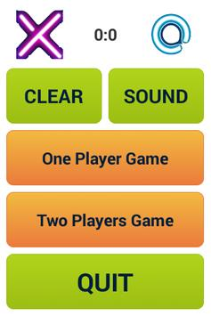 Free Tic Tac Toe XO Game apk screenshot