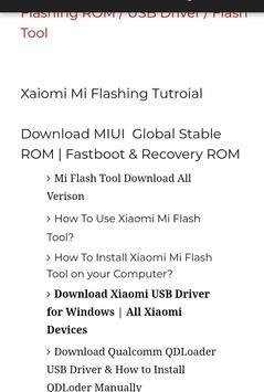 MI Mobile Repairing Guide H/S screenshot 2