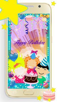 Birthday Photo Editor poster