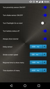 Free Flashlight LED Torch App apk screenshot