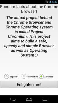 Chrome Facts screenshot 4