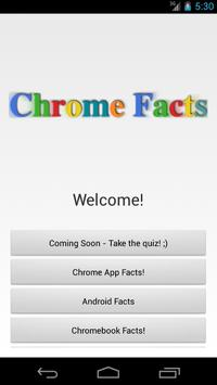 Chrome Facts poster