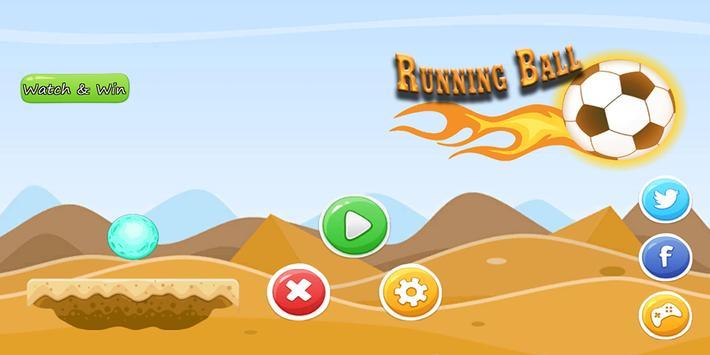 Running Ball poster