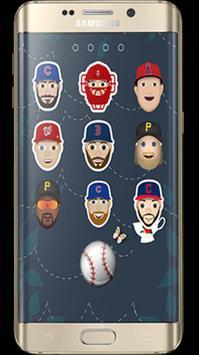 Emoji MLB Lock Screen poster