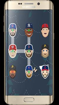 Emoji MLB Lock Screen apk screenshot