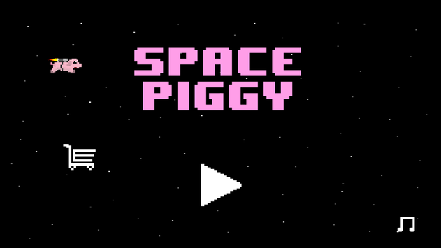 Space Piggy poster