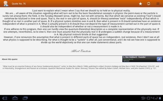 Albert Einstein Quotes screenshot 4
