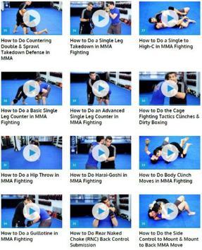 MMA Fighting Techniques apk screenshot
