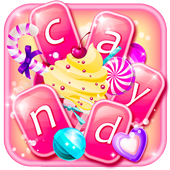 Sweet Candy Cupcakes Keyboard icon