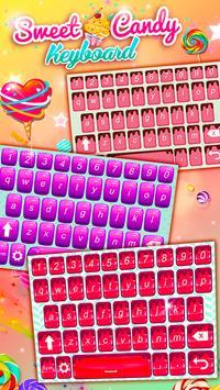 Sweet Candy Cupcakes Keyboard apk screenshot