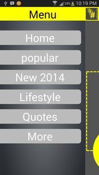 HASHTAG 2014 apk screenshot