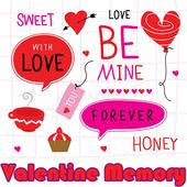 Memory Game - Valentine 002 icon