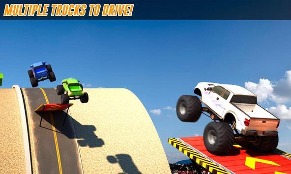 Grand Monster Truck Stunts 3D poster