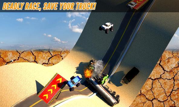 Grand Monster Truck Stunts 3D apk screenshot