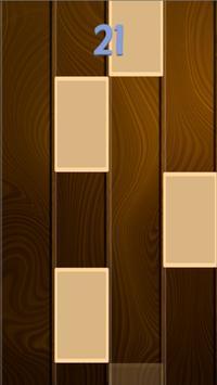 Becky G - Sin Pijama - Piano Wooden Tiles screenshot 2