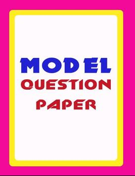 MODEL PAPER 1 poster