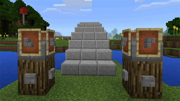 MOD Self-Building Redstone House for MCPE for Android - APK