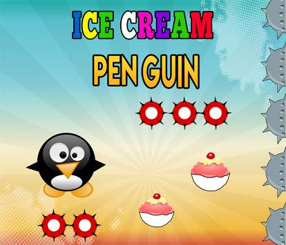 Ice Cream Penguin Game apk screenshot