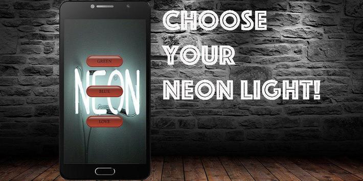 Neon Light Neon Lamp ( Simulator) poster