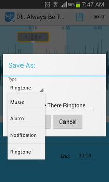 Music Cutter Ringtone Maker Ekran Görüntüsü 3