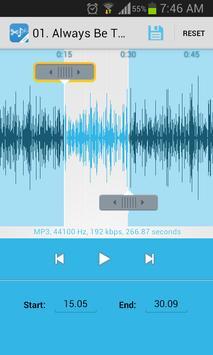 Music Cutter Ringtone Maker Ekran Görüntüsü 1