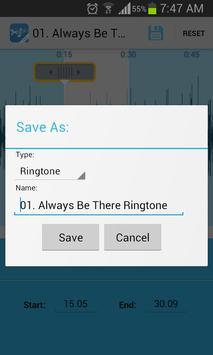 Music Cutter Ringtone Maker Ekran Görüntüsü 2