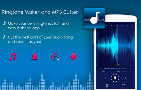 Ringtone Maker and MP3 Cutter♪ 2018 poster