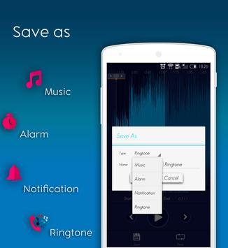 Ringtone Maker and MP3 Cutter♪ 2018 apk screenshot
