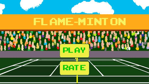 Flame-minton poster