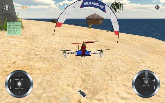 Multirotor Sim screenshot 4