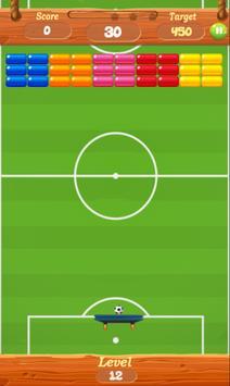 Soccer Bricks Breaker : Breakout poster