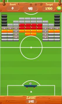 Soccer Bricks Breaker : Breakout screenshot 1