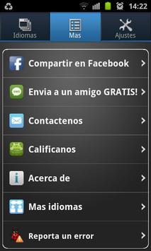 Traductor Multilingue screenshot 1