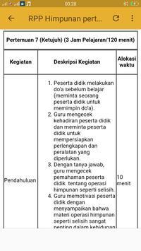 RPP MTK kurikulum 2013 kls VII screenshot 3