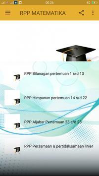 RPP MTK kurikulum 2013 kls VII poster