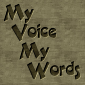 My Voice My Words Mulberry icon