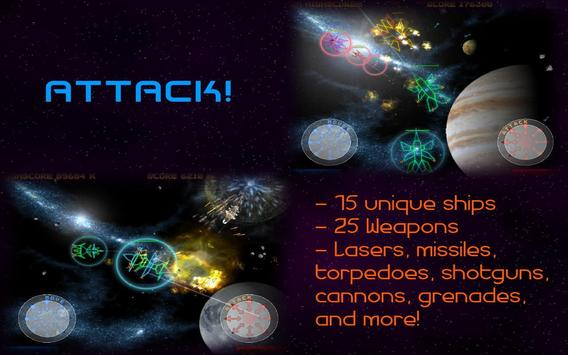 Space Conquest Demo apk screenshot