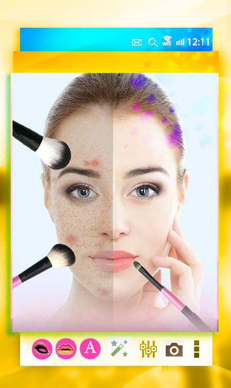 Online Makeup Picture Editor