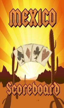Mexico Scoreboard poster