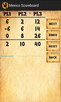 Mexico Scoreboard apk screenshot