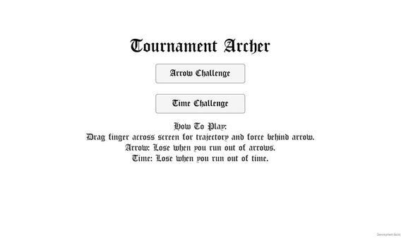 Tournament Archer - Bow & Arrow Competition screenshot 4