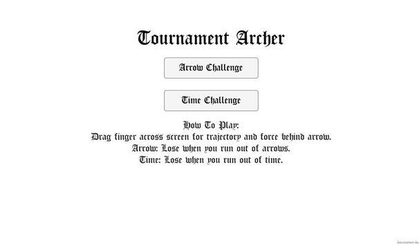 Tournament Archer - Bow & Arrow Competition screenshot 5