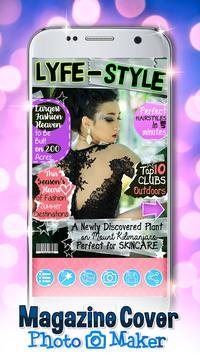 Magazine Cover Photo Maker poster