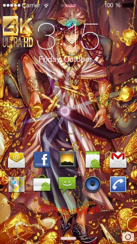 ... Magi The Labyrinth Of Magic Wallpaper HD screenshot 3 ...